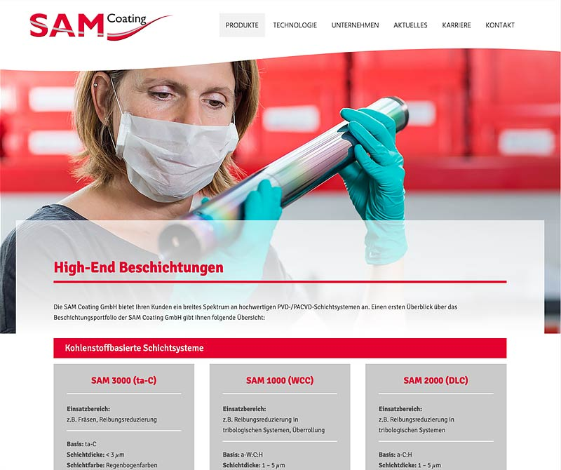 SAM Coating (Web)